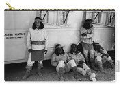 Film Homage Apache Extras The High Chaparral 1969 Old Tucson Arizona 1969-2008  Carry-all Pouch