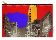 Film Homage Arthur Rothstein Theater Row  Majestic Melba  Palace Theaters Dallas Texas 1942-2008 Carry-all Pouch