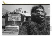 Film Homage Barbara Payton Bride Of The Gorilla 1951 Gorilla Mascot July 4th Mattress Sale 1991 Carry-all Pouch