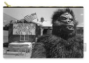 Film Homage Barbara Payton Bride Of The Gorilla 1951 Gorilla Pitchman Tucson Arizona July 4th 1991 Carry-all Pouch