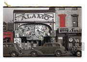 Film Homage Bela Lugosi Shadow Of Chinatown 1936 John Vachon Fsa Alamo Theater Washington D.c. 2010 Carry-all Pouch