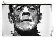 Film Homage Boris Karloff The Bride Of Frankenstein 1935 Publicity Photo 1935-2012 Carry-all Pouch