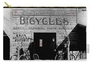 Film Homage Butch Cassidy 1969 Russell And Sheldon Bicycles C.1895 Tucson Arizona 2008 Carry-all Pouch