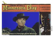 Film Homage Cameron Mitchell Minnesota Clay Lobby Card 1964-2013 Carry-all Pouch