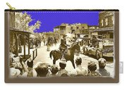 Film Homage Cameron Mitchell The High Chaparral Main Street Old Tucson Az Publicity Photo Carry-all Pouch