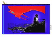 Film Homage Cary Grant Biplane Collage Publicity Photo North By Northwest 1959-2012 Carry-all Pouch