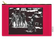 Film Homage Charles Chaplin The Gold Rush 1925 Camera Crew Collage 2010 Carry-all Pouch