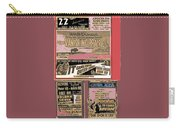 Film Homage Collage Drive-in Ads 1953 Tucson Arizona 2008 Carry-all Pouch
