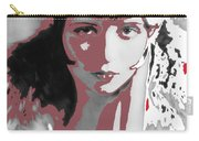 Film Homage Collage Eugene Robert Richee Photo Clara Bow Circa 1928-2013 Carry-all Pouch