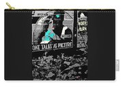 Film Homage Dolores Costello George O'brien Noah's Ark 1928 Ralph Steiner 1929-2008 Carry-all Pouch