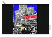 Film Homage Embassy Newsreel Theater 1940 Times Square New York City 2008 Carry-all Pouch