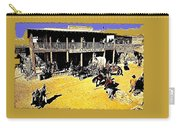 Film Homage Extras Unknown Production Old Tucson Arizona Color Added Carry-all Pouch
