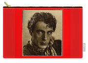 Film Homage Gary Cooper 1929-2009  Collage Color Added Carry-all Pouch