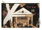 Film Homage Gone With The Wind Premiere Collage Loew's Grand Atlanta Georgia 1939-2008 Carry-all Pouch