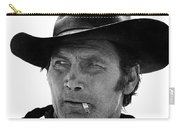 Film Homage Jack Palance Monte Walsh Set Old Tucson Arizona 1969 Carry-all Pouch