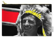 Film Homage Jean-paul Belmondo  Fake Indian Bonnet Love Is A Funny Thing  Old Tucson Az 1969-2008 Carry-all Pouch