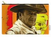 Film Homage John Wayne Andy Warhol Inspired Rio Lobo Variation 1 Old Tucson Arizona 1970-2009 Carry-all Pouch