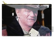 Film Homage John Wayne The Man From Monterey 1933 Cardboard Cut-out Window Tombstone Arizona 2004  Carry-all Pouch