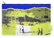 Film Homage Old Tucson Arizona In The Mid 1940's Carry-all Pouch