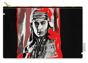 Film Homage Rudolph Valentino The Shiek 1921 Collage Color Added 2008 Carry-all Pouch