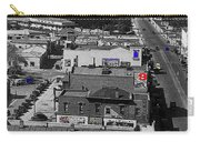 Film Homage Ted Degrazia Cine Plaza Theater  Blue W. Congress Tucson Arizona 1936-2008 Carry-all Pouch
