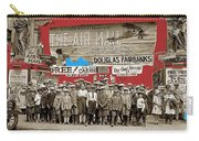 Film Homage The Air Mail  Leader Theater Washington D.c. 1925-2010 Carry-all Pouch