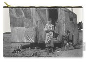 Film Homage The Grapes Of Wrath 1 1940 Family In Shack Perhaps Eloy Arizona 1940-2008 Carry-all Pouch
