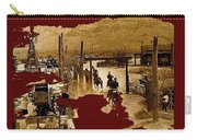 Film Homage The High Chaparral Set Collage Old Tucson Arizona C.1967-2013 Carry-all Pouch