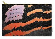 Film Homage The Manchurian Candidate 1962 Flag Car Window Sacaton Arizona 2005 Carry-all Pouch