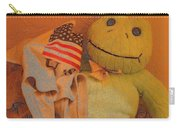 Film Homage The Muppet Movie 1979 Number 1 Froggie Colored Pencil American Flag Casa Grande Az 2004 Carry-all Pouch