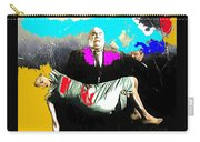 Film Homage Tor Johnson Ed Wood Plan Nine From Outer Space 1959 Publicity Photo Color Added 2012 Carry-all Pouch