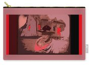 Film Homage William S. Hart Hell's Hinges Collage  1916-2012  Carry-all Pouch