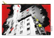 Film Noir Act Of Violence 1949 Pioneer Hotel Fire 1970 Jack Schaeffer Photo Color Added 2012 Carry-all Pouch