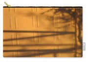 Film Noir Caught 2 1949 Shadow On Garage Door Casa Grande Arizona. 2004 Carry-all Pouch