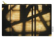 Film Noir Dick Powell Edward Dmytryk Cornered 1945 Building Interior Shadows Coolidge Arizona  2004 Carry-all Pouch