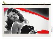 Film Noir Jean Louis Rita Hayworth Gilda 1946 Color Added 2012 Carry-all Pouch