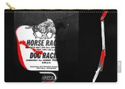 Film Noir Jim Thompson The Grifters 1990 2 Horse Dog Tracks Sign Juarez 1977 Carry-all Pouch