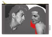 Film Noir Robert Mitchum Jane Russell His Kind Of Woman 1951 Rko Color Added 2012 Carry-all Pouch