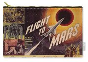 Film Poster Flight To Mars Carry-all Pouch
