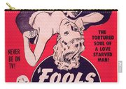 Film Poster Fools Of Desire 1930s Carry-all Pouch