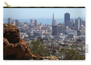 Financial District From Corona Heights Carry-all Pouch