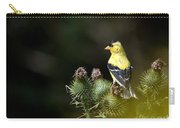 Finch In The Thistles Carry-all Pouch