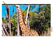 Find The Giraffe Carry-all Pouch