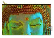 Finding Buddha - Meditation Art By Sharon Cummings Carry-all Pouch by Sharon Cummings