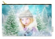 Finding Santa Carry-all Pouch by Mo T