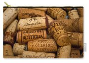 Fine Wine Corks Carry-all Pouch