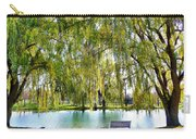 Finger Lakes Weeping Willows Carry-all Pouch