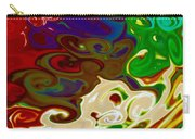 Fingerpainted Fantasy Carry-all Pouch