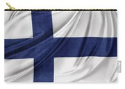 Finnish Flag Carry-all Pouch