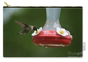 Fiona The Little Female Hummingbird Carry-all Pouch